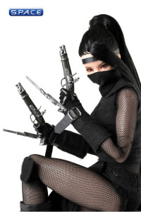 1/6 Scale Sexy Female Ninja Costume Full Set