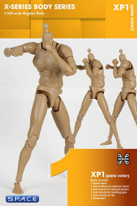 1/6 Scale Regular Body - Pale Color XP1 (X-Series Body)