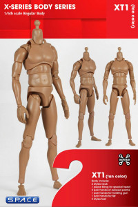 1/6 Scale Regular Body - Tan Color XT1 (X-Series Body)