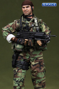 1/6 Scale Navy SEAL Recon Team SAW Gunner