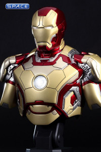 1/4 Scale Iron Man Mark XLII Bust HTB11 (Iron Man 3)