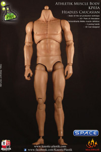 1/6 Scale Athletic Muscle Body KP03 Headless Version
