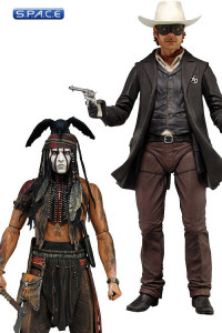 2er Satz: Tonto and Lone Ranger (The Lone Ranger)