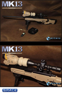 1/6 Scale MK13 Sniper Rifle (Coyote Brown)