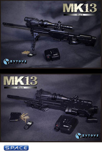 1/6 Scale MK13 Sniper Rifle (Black)