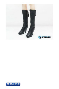 1/6 Scale Female Long Boots (Black)