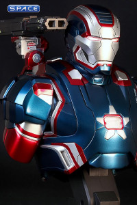 1/4 Scale Iron Patriot Bust (Iron Man 3)