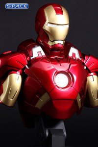 1/4 Scale Iron Man Mark VII Bust HTB13 (Iron Man 3)