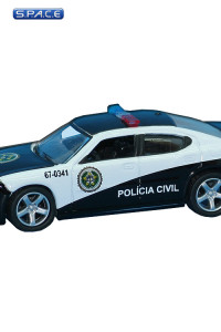 1:64 Scale Rio Police Dodge Charger Die Cast (Fast & Furious)