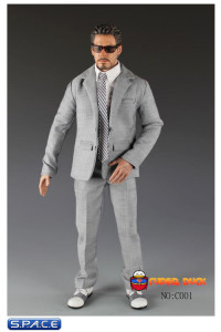 1/6 Scale Men's Suit Set C001