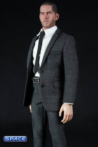 1/6 Scale Mens Homme Select Suits Set 62015-A (Grey)