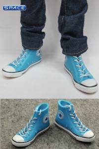 1/6 Scale Female High Cut Sneakers (Blue)