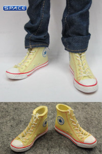 1/6 Scale Female High Cut Sneakers (Yellow)