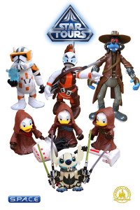 5er Komplettsatz: Star Tours Disney Exclusive Series 5
