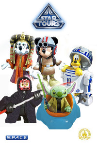 5er Komplettsatz: Star Tours Disney Exclusive Series 6