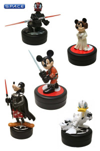 5er Satz: Star Wars Disney Statues (2011)