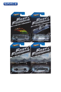 Set of 4: 1:64 Hot Wheels Y2126 (Fast & Furious)