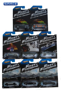 Complete Set of 8: 1:64 Hot Wheels Y2126 (Fast & Furious)