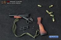 1/6 Scale M79 Grenade Launcher (Metal Wood Version)