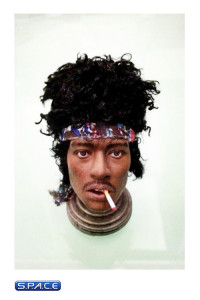 1/6 Scale Custom Hand Made Head Collection #1 - Jimmy Hendrix