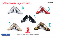 1/6 Scale Female High-Heel Shoes VCF2004-B (Red)