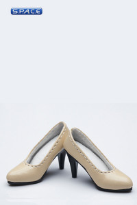 1/6 Scale Female High-Heel Shoes VCF2004-D (Apricot)