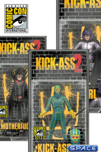 Kick-Ass 2 Uncensored Packaging Figures SDCC 2013 Exclusive