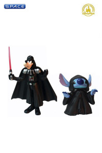 Stitch and Goofy as Emperor Palpatine and Darth Vader 2-Pack (Star Tours)