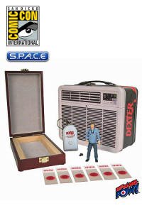 Dexter in Tin Tote with Blood Slide Box SDCC 2013 Exclusive (Dexter)