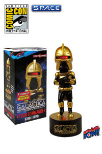 Cylon Commander Gold Bobble Head with Lights and Sound SDCC 2013 Exclusive (Battlestar Galactica)