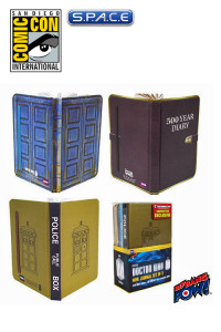 Set of 3: Doctor Who Mini-Journal SDCC 2013 Exclusive (Doctor Who)