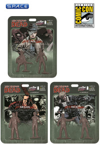 3er Satz: The Walking Dead 2-Pack SDCC 2013 Exclusive (Deathly Gray)