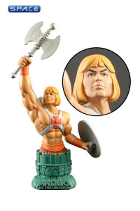 He-Man Filmation Bust Paperweight SDCC 2013 Exclusive (Masters of the Universe)