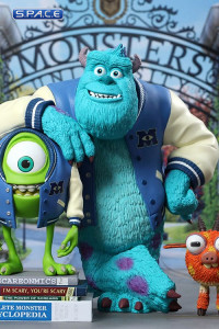Mike, Sulley & Archie Vinyl Collectible Set - Deluxe Version (Monsters University)