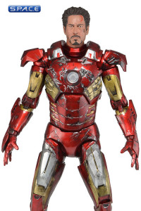 1/4 Scale Battle Damaged Iron Man Mark VII (The Avengers)
