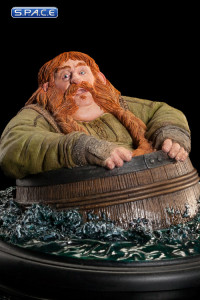 Bombur the Dwarf Barrel Rider Mini-Statue (The Hobbit - The Desolation of Smaug)
