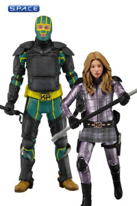 Set of 2: Armored KA and Hit-Girl (Kick-Ass 2 Series 2)
