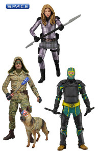 Complete Set of 3: Kick-Ass 2 Series 2