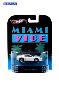 1:64 Ferrari F512 M Hot Wheels X8915 Retro Entertainment (Miami Vice)