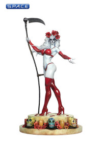Lady Death La Muerta Statue (Lady Death)