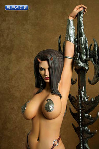Guardian Girl Statue (Heavy Metal)
