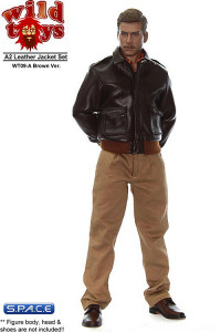 1/6 Scale Leather Jacket Set A (Brown Ver.)