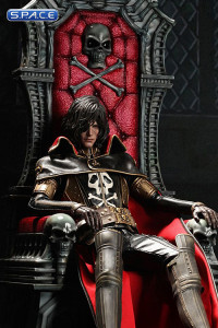 1/6 Scale Captain Harlock with Throne Movie Masterpiece MMS223 (Space Pirate Captain Harlock)