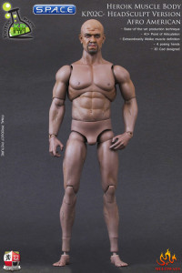 1/6 Scale Heroic Muscle Body - Afro American Version KP02C