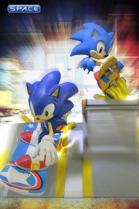 Sonic Generations Diorama (Sonic the Hedgehog)