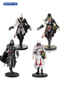 Ezio Auditore: Complete Figurine Set 4-Pack (Assassin's Creed)
