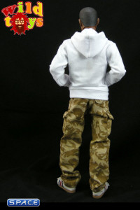 1/6 Scale Hoodie Series 2 - White (WT-07C)