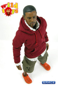 1/6 Scale Hoodie Series 2 - Crimson Red (WT-07E)