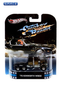 1:64 '75 Kenworth W900 Hot Wheels X8932 Retro Entertainment (Smokey and the Bandit)