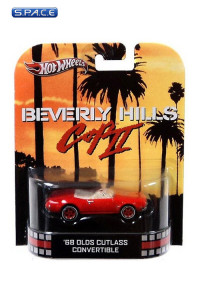 1:64 '68 Olds Cutlass Convertible Hot Wheels X8900 Retro Entertainment (Beverly Hills Cop II)